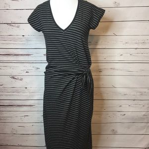 Lucky Brand | Striped Faux Wrap Dress | NWT | XS